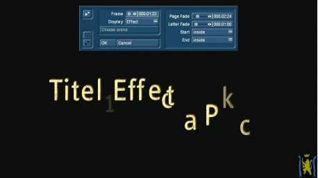 Titel Effektpaket 1