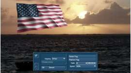 FlaggeX 2 Amerika