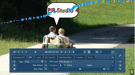 PiP-Studio 4 Update von v3 für Bogart Windows