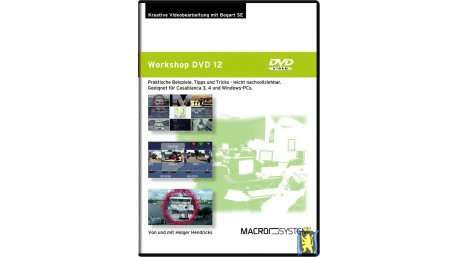 DVD Vol.12 Kreative Video- Bearbeitung mit Casablanca / Bogart (Deutsch)