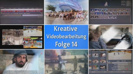 DVD Vol.14 Kreative Video- Bearbeitung mit Casablanca / Bogart (Deutsch)
