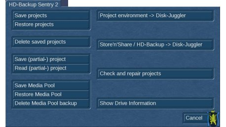 HD-Backup 'Sentry' 2 + Disk-Juggler BUNDLE für Bogart Windows