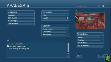 Arabesk 6 Update von Arabesk 5 und älter (Casablanca-3/DVC)