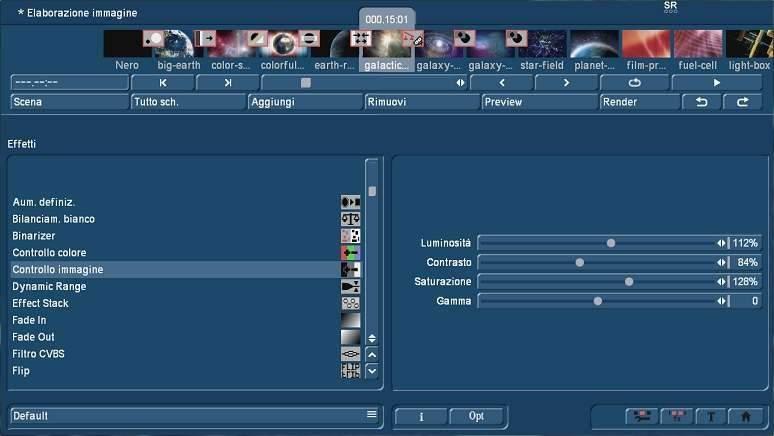 Correzione immagine con Bogart for Windows