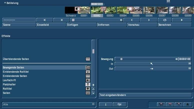 Titel-Effekte am PC mit Bogart für Windows
