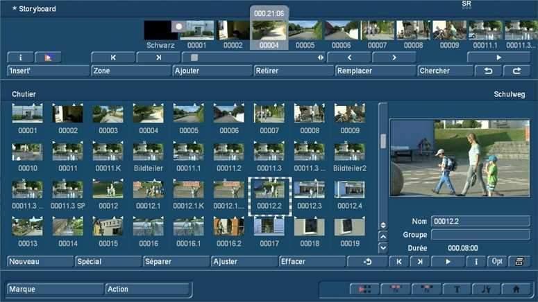 Bogart et modifier AVCHD & 4k vidéo