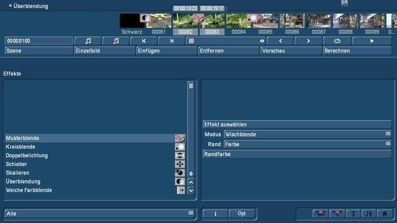 Video Überblendungen mit Bogart am PC