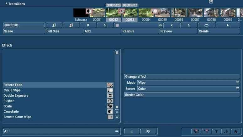 Video Transitions with Bogart at your PC