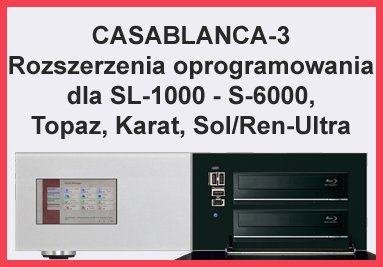 Casablanca-3 Rozszerzenia Oprogramowania