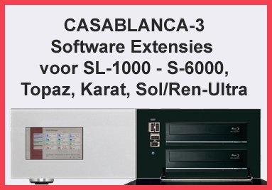 Casablanca-3 Software Extensies