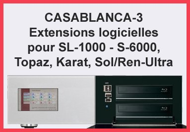 Casablanca-3 Extensions logicielles